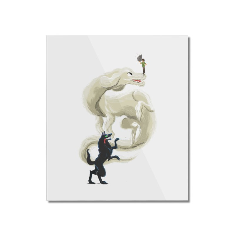 Neverending Story Home Mounted Acrylic Print by Kanjano Shop