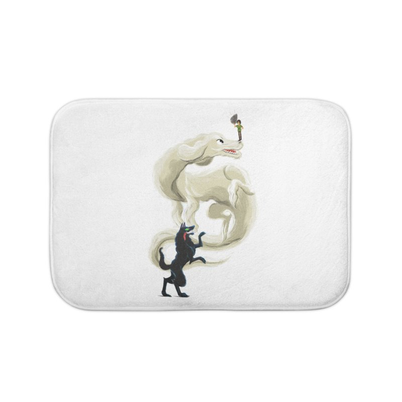 Neverending Story Home Bath Mat by Kanjano Shop