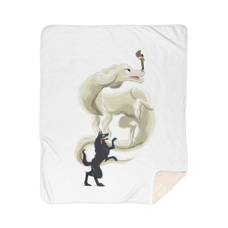 Neverending Story Home Blanket by Kanjano Shop