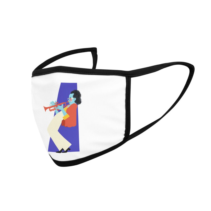 Miles Davis Accessories Face Mask by Kanjano Shop