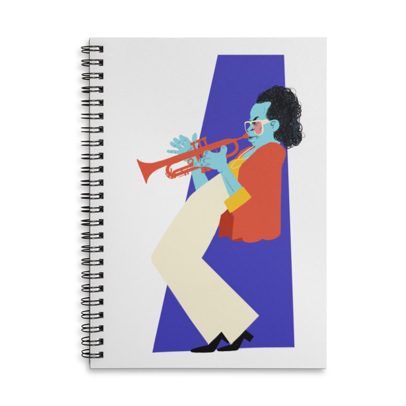 Miles Davis Accessories Notebook by Kanjano Shop