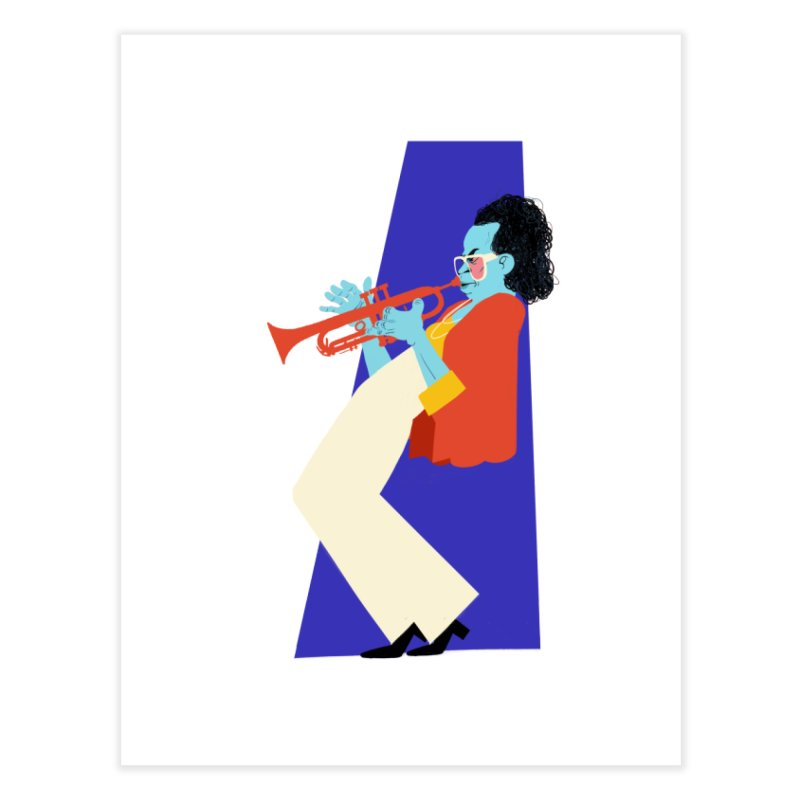 Miles Davis Home Fine Art Print by Kanjano Shop