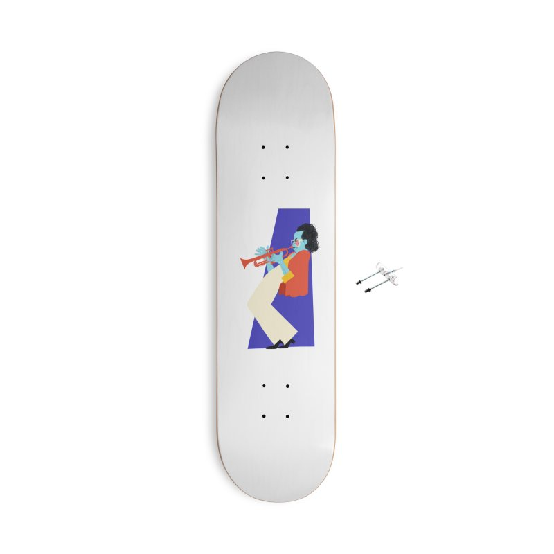 Miles Davis Accessories Skateboard by Kanjano Shop