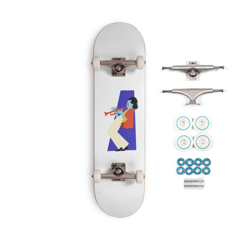 Miles Davis Accessories Skateboard by Kanjano Shop