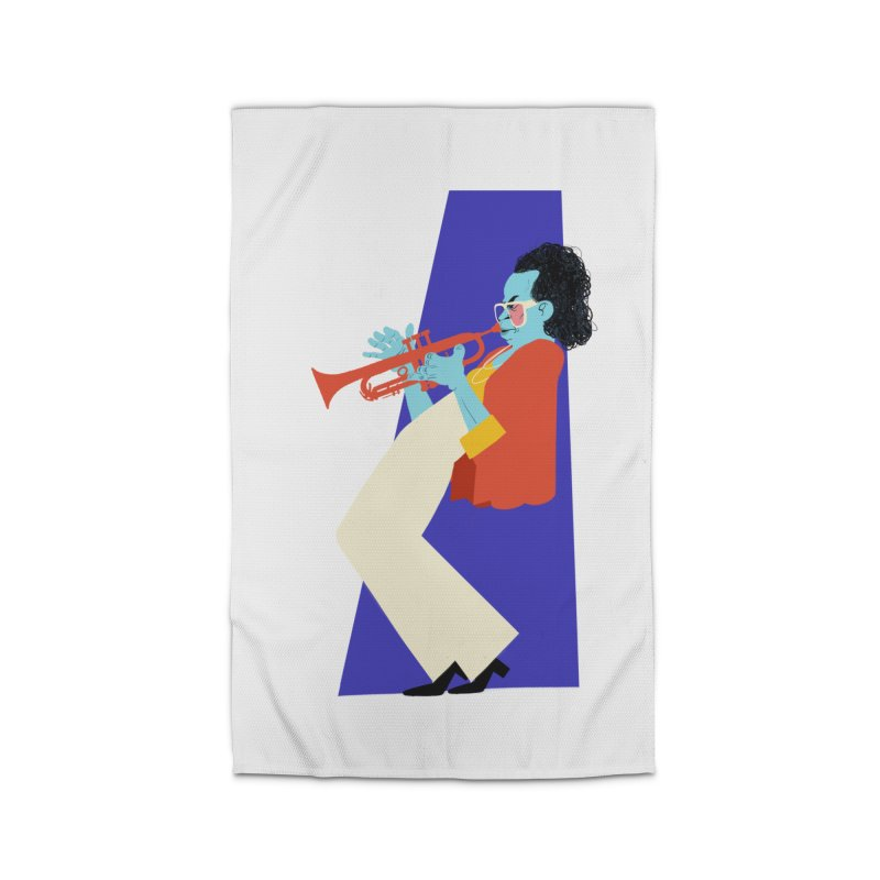 Miles Davis Home Rug by Kanjano Shop