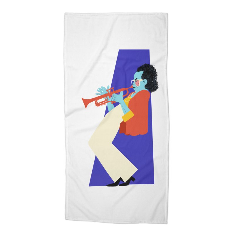 Miles Davis Accessories Beach Towel by Kanjano Shop
