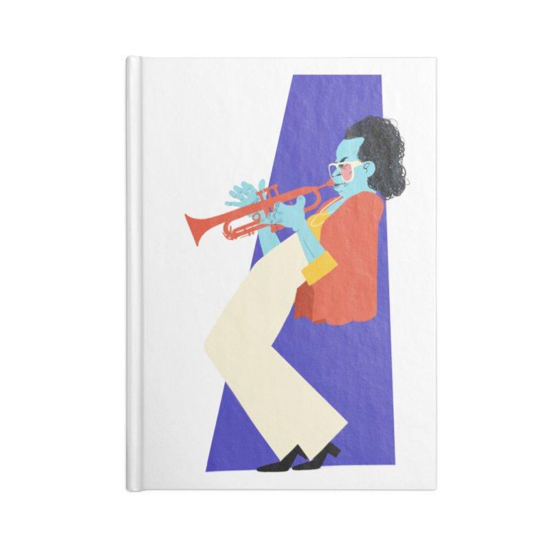 Miles Davis Accessories Notebook by Kanjano Shop