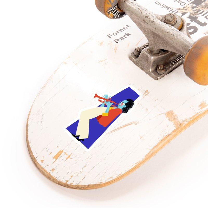 Miles Davis Accessories Sticker by Kanjano Shop
