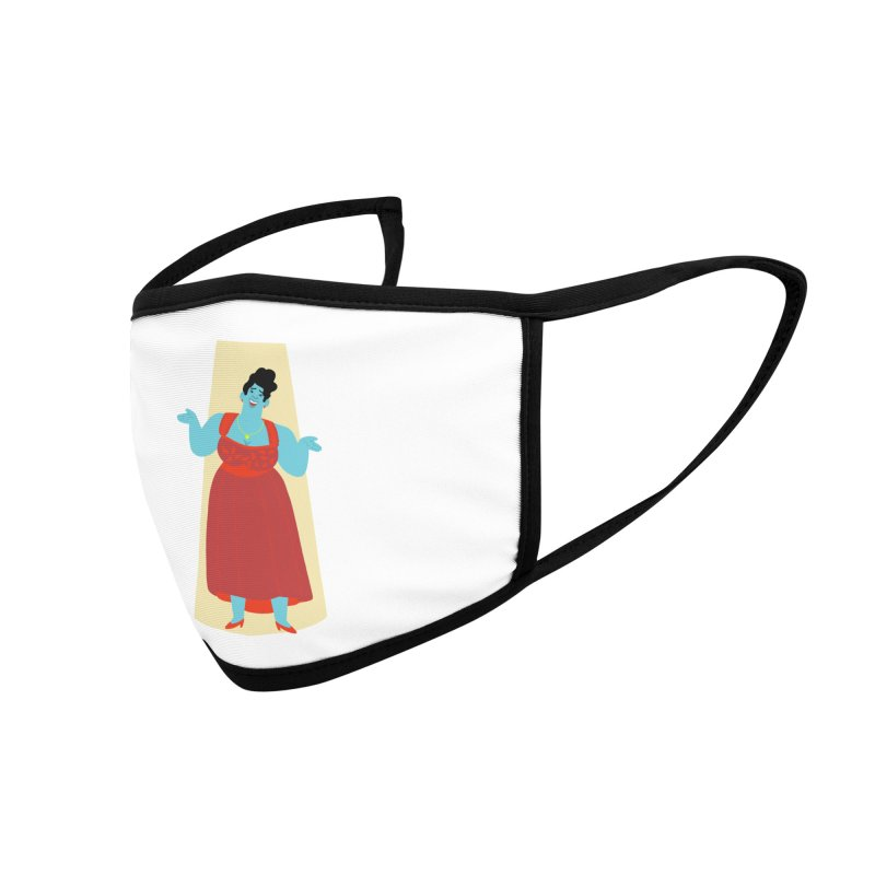 Ella Fitzgerald Accessories Face Mask by Kanjano Shop