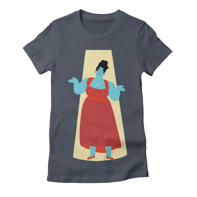 Ella Fitzgerald Women's T-Shirt by Kanjano Shop
