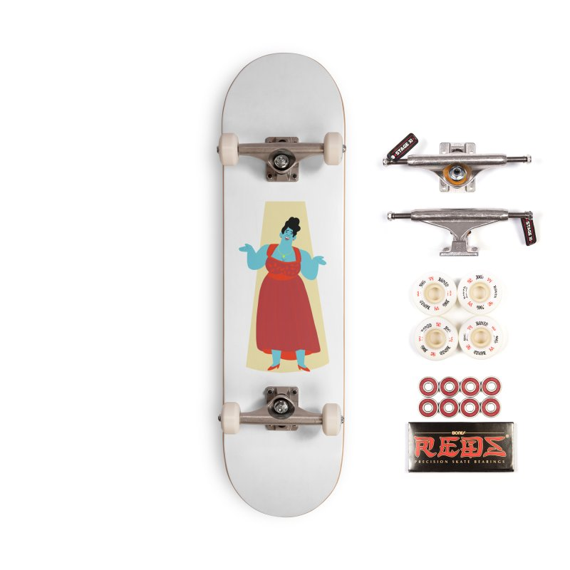 Ella Fitzgerald Accessories Skateboard by Kanjano Shop
