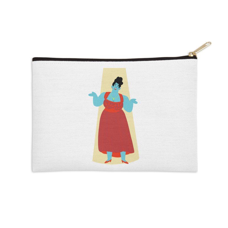 Ella Fitzgerald Accessories Zip Pouch by Kanjano Shop