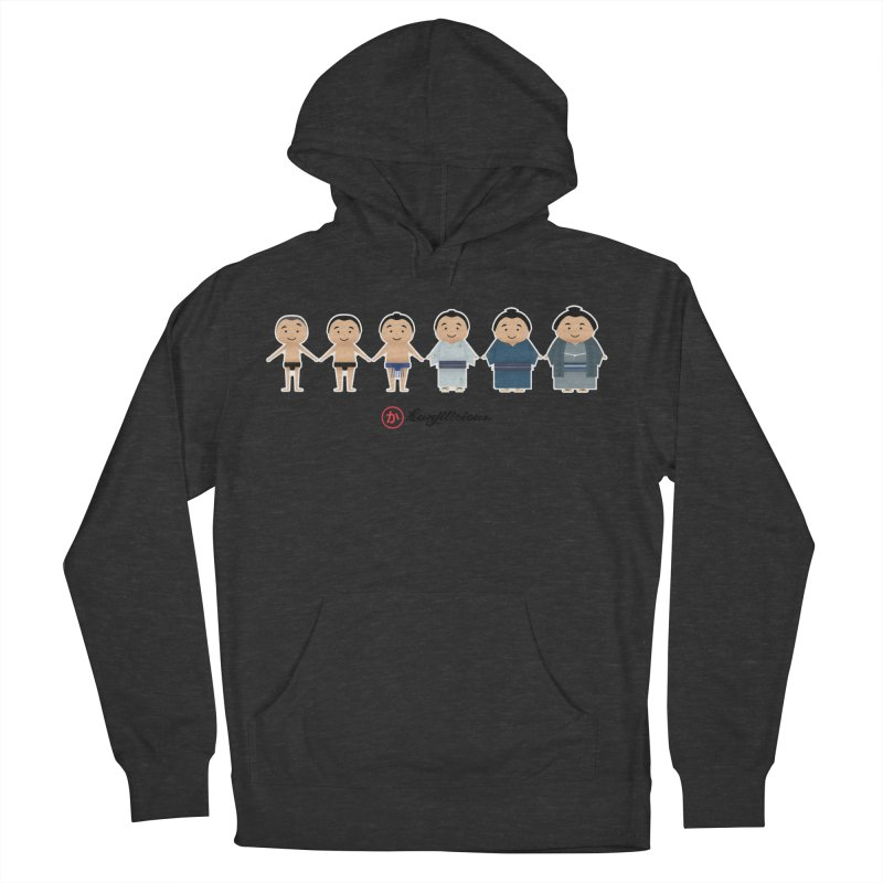 Sumo Evolution Women's Pullover Hoody by Kanjilicious Artist Shop