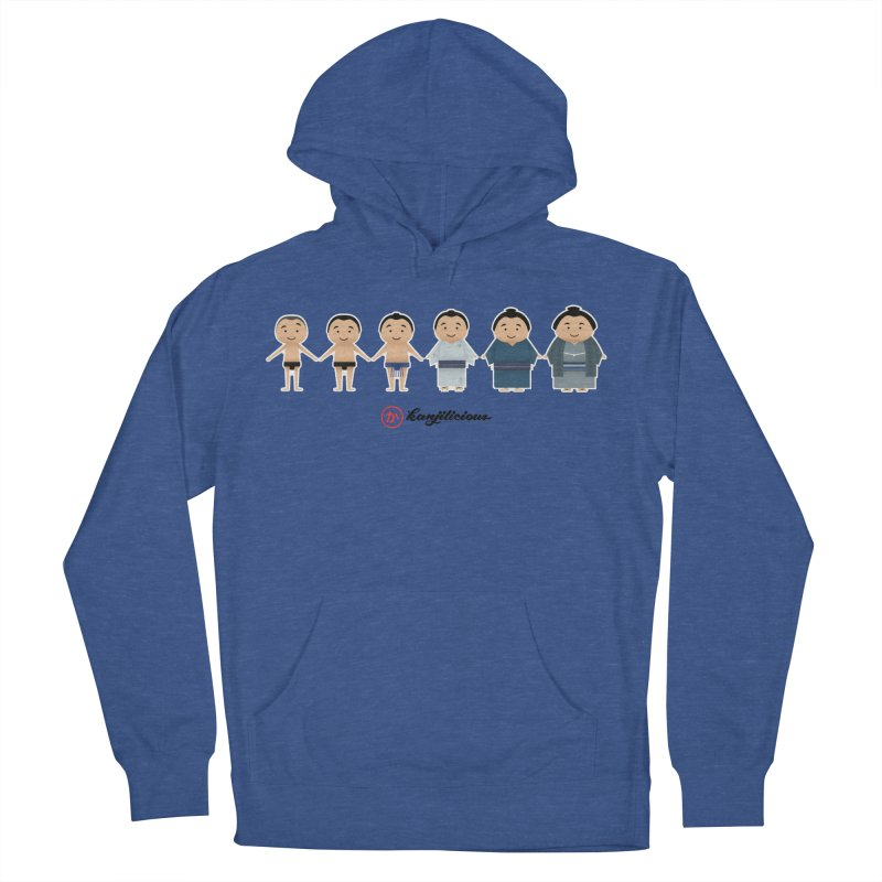 Sumo Evolution Women's French Terry Pullover Hoody by Kanjilicious Artist Shop