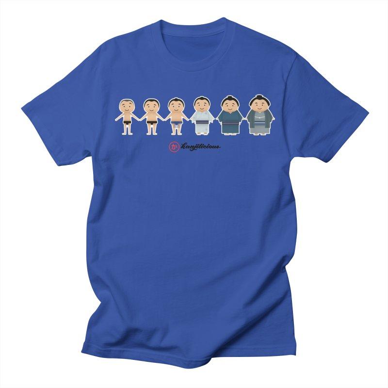 Sumo Evolution Women's Regular Unisex T-Shirt by Kanjilicious Artist Shop