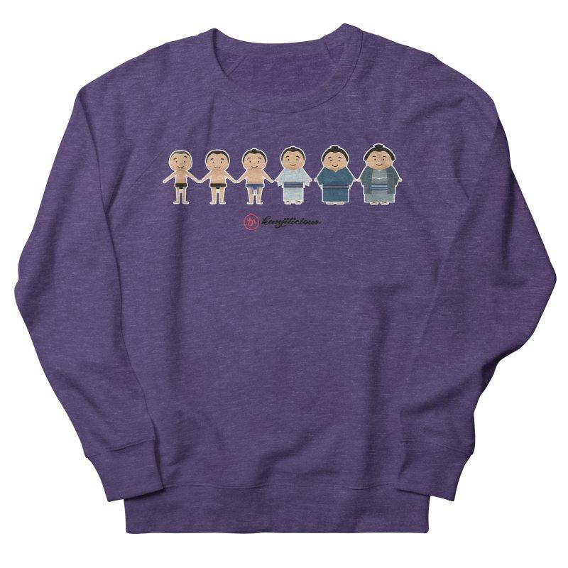 Sumo Evolution Women's French Terry Sweatshirt by Kanjilicious Artist Shop