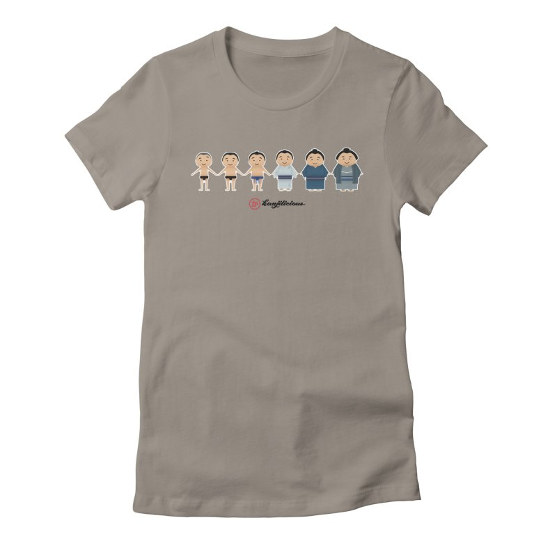 Sumo Evolution Women's T-Shirt by Kanjilicious Artist Shop