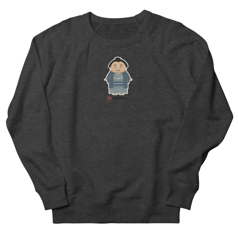 Yokozuna Women's French Terry Sweatshirt by Kanjilicious Artist Shop