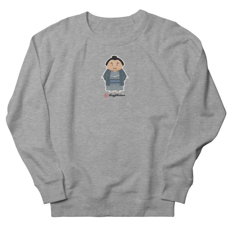 Yokozuna Women's French Terry Sweatshirt by Kanjilicious Artist Shop