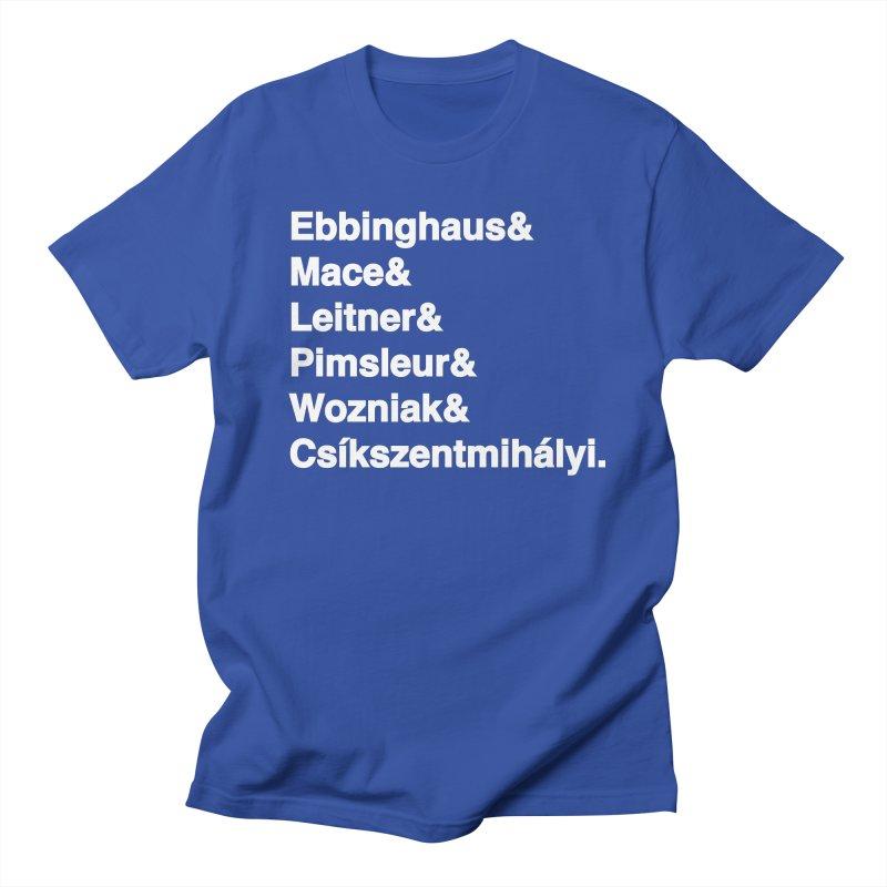 Memory Gurus (Helvetica List) Men's Regular T-Shirt by Kanjilicious Artist Shop