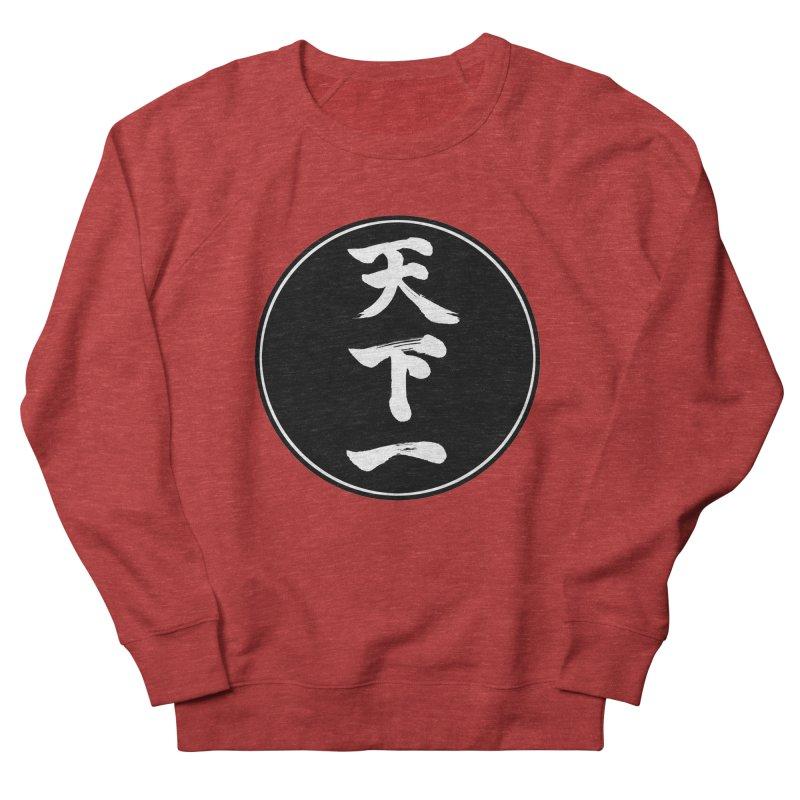 #1 Under Heaven (Tenkaichi) Kanji Circle Pop Art Women's French Terry Sweatshirt by KansaiChick Japanese Kanji Shop