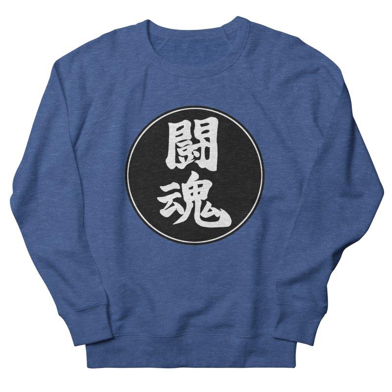 Fighting Spirit (Toukon) Kanji Circle Pop Art Men's French Terry Sweatshirt by KansaiChick Japanese Kanji Shop