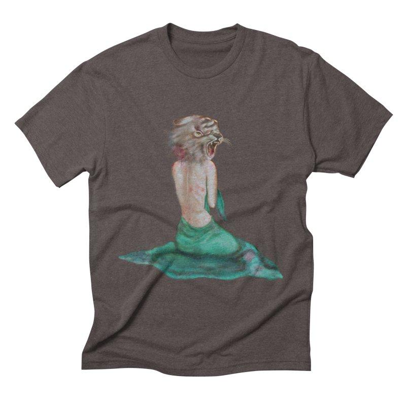 Beast Men's Triblend T-Shirt by Karen Preston's Artist Shop