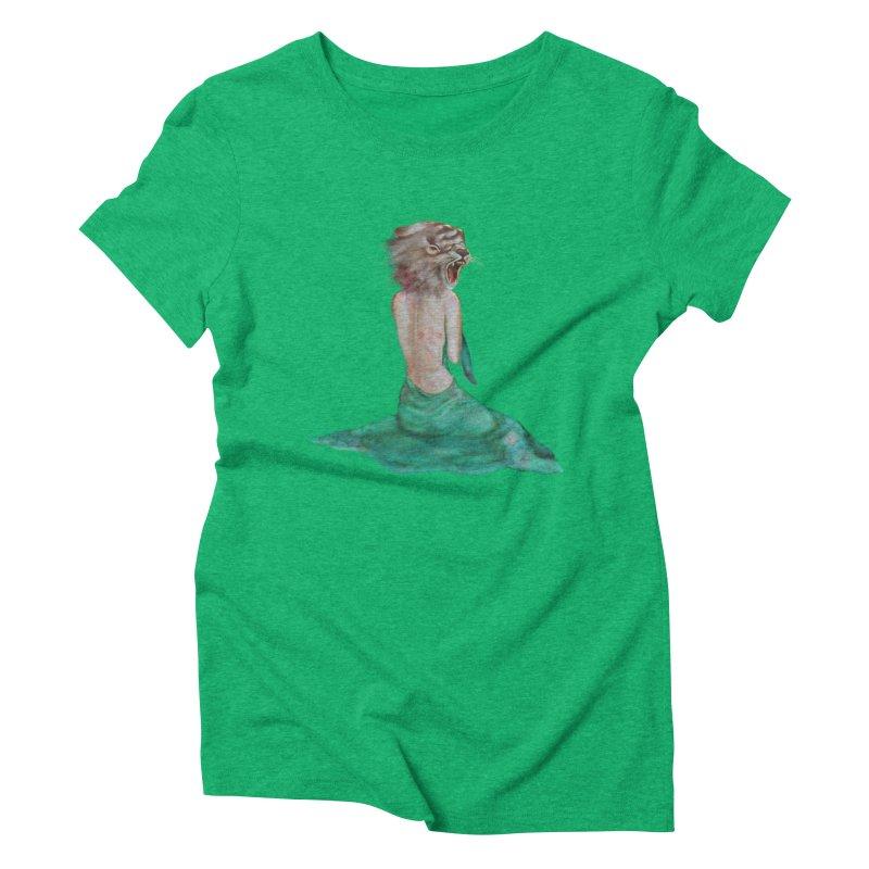 Beast Women's Triblend T-Shirt by Karen Preston's Artist Shop
