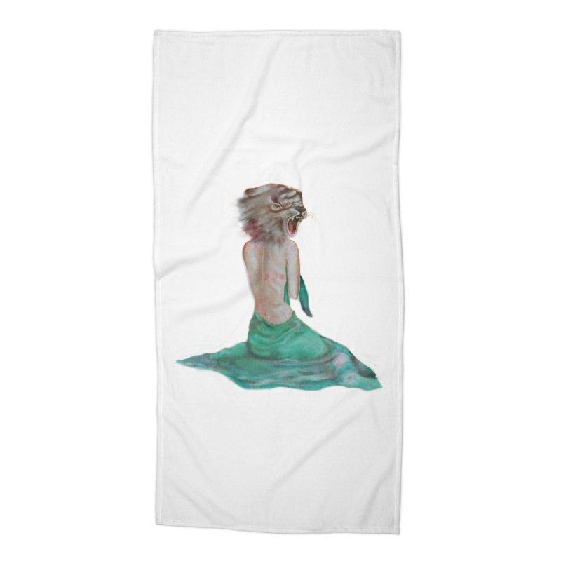 Beast Accessories Beach Towel by Karen Preston's Artist Shop