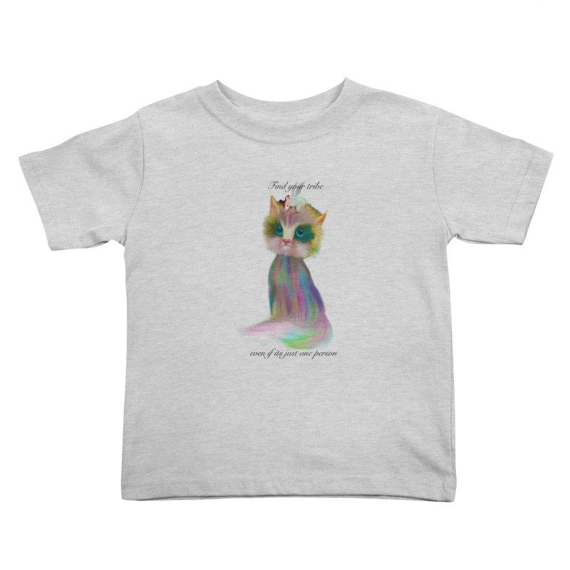 Tribe Kids Toddler T-Shirt by Karen Preston's Artist Shop