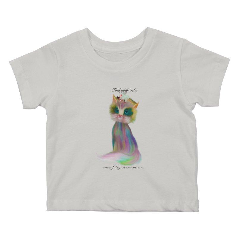 Tribe Kids Baby T-Shirt by Karen Preston's Artist Shop