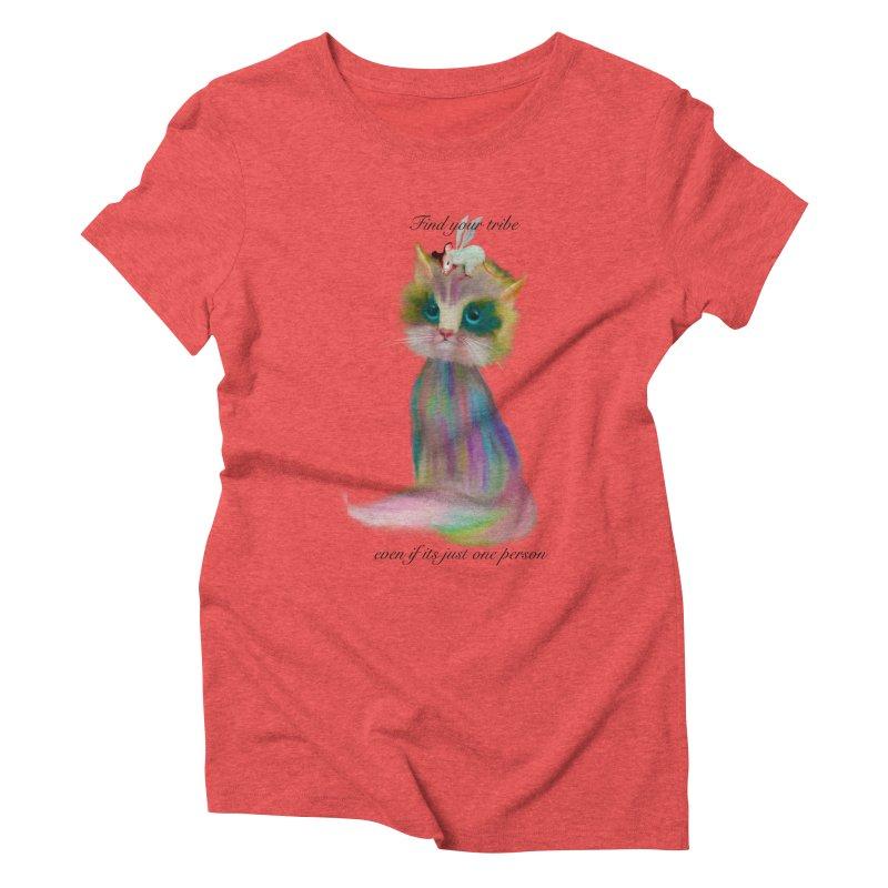 Tribe Women's Triblend T-Shirt by Karen Preston's Artist Shop