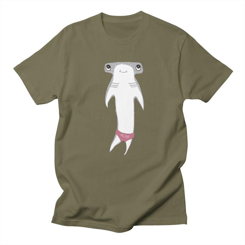 Big Fish Women's Unisex T-Shirt by Karen Preston's Artist Shop