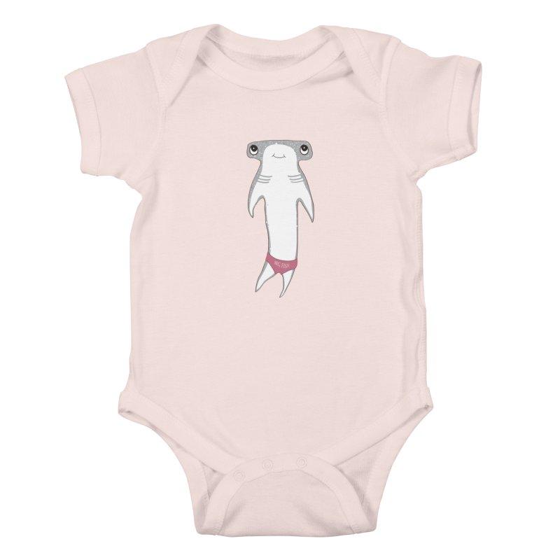 Big Fish Kids Baby Bodysuit by Karen Preston's Artist Shop