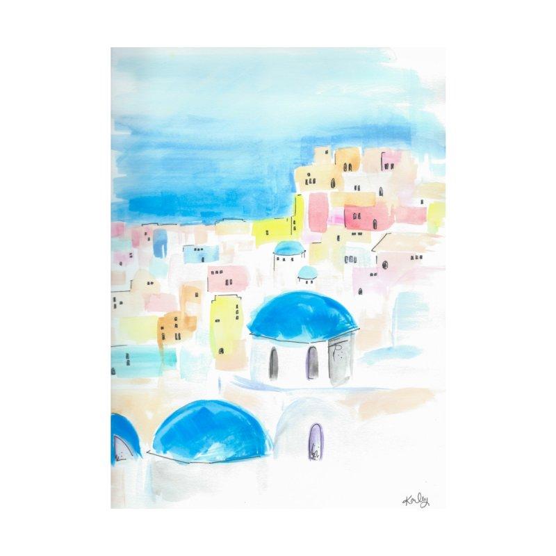 Santorini Home Fine Art Print by Karley Kiker's Artist Shop