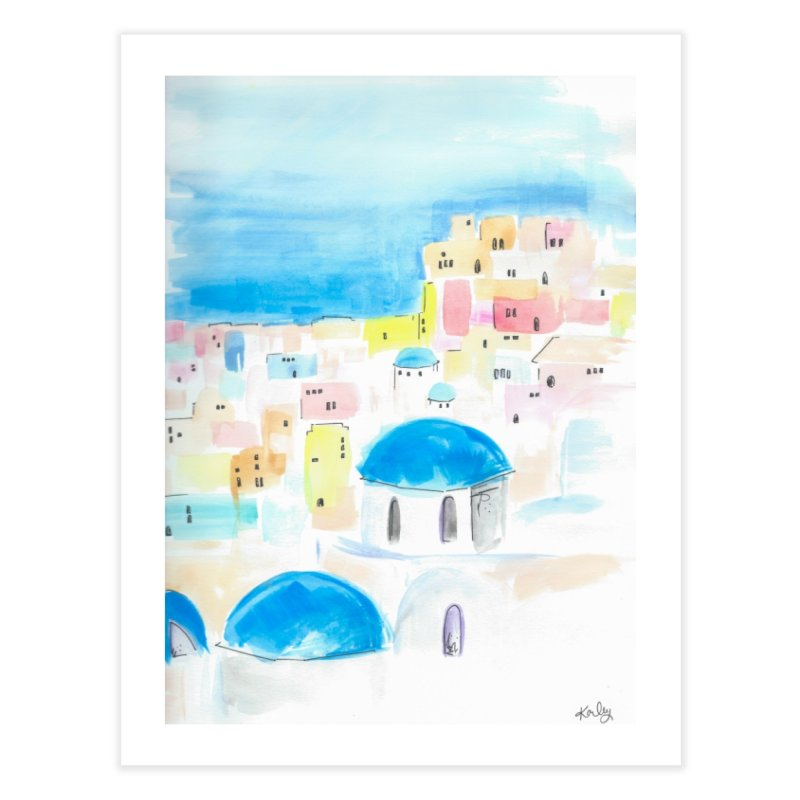 Santorini in Fine Art Print by Karley Kiker's Artist Shop