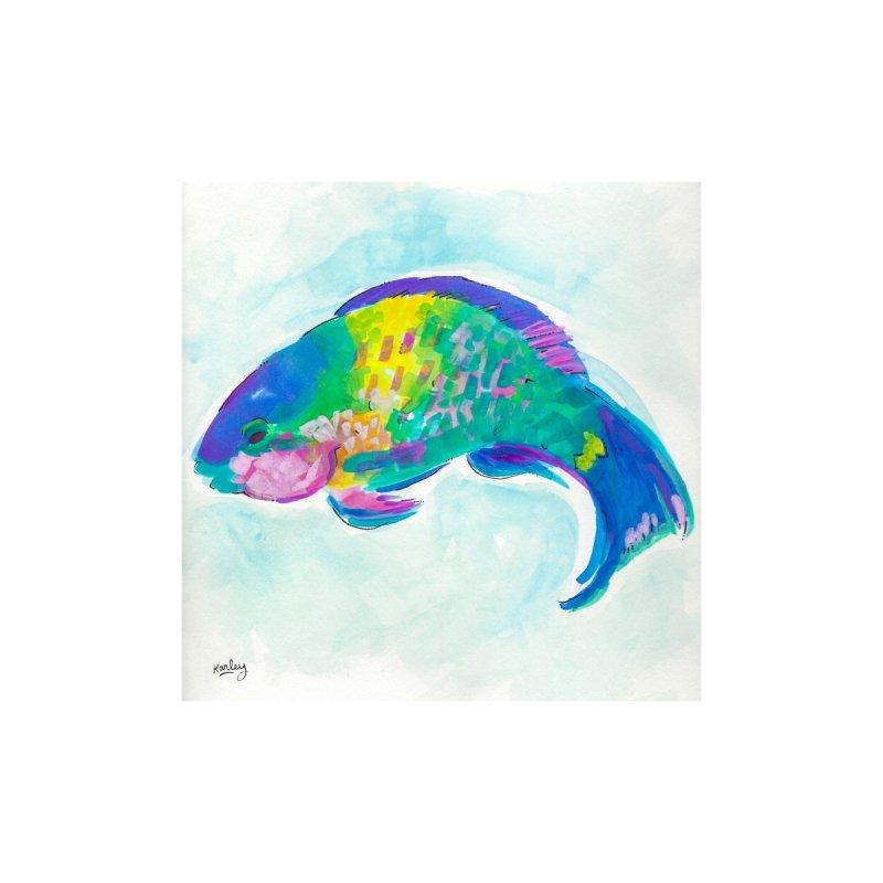Parrotfish   Beach Art Home Fine Art Print by Karley Kiker's Artist Shop