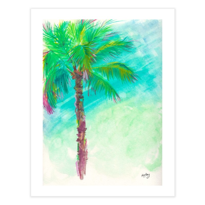 Palm Tree | Beach Art in Fine Art Print by Karley Kiker's Artist Shop