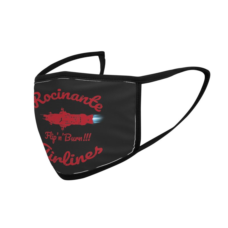 ROCINANTE AIRLINES FLIP'N'BURN! Accessories Face Mask by karmadesigner's Tee Shirt Shop
