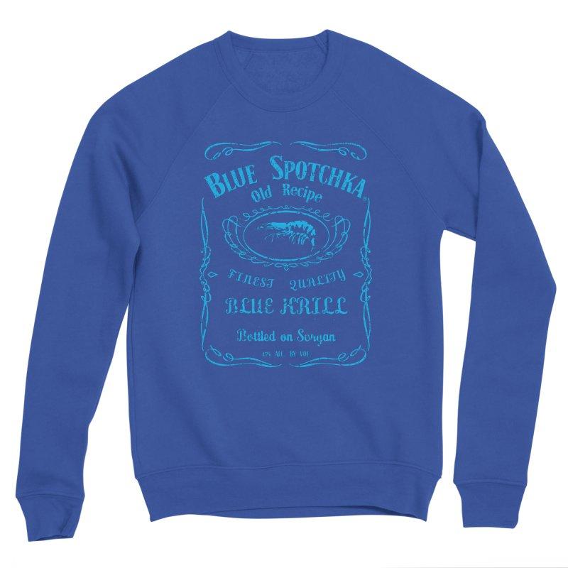 BLUE SPOTCHKA Men's Sponge Fleece Sweatshirt by karmadesigner's Tee Shirt Shop