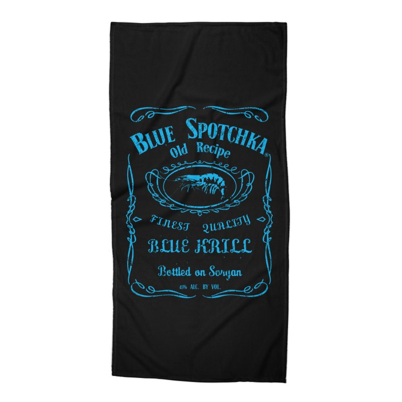 BLUE SPOTCHKA Accessories Beach Towel by karmadesigner's Tee Shirt Shop