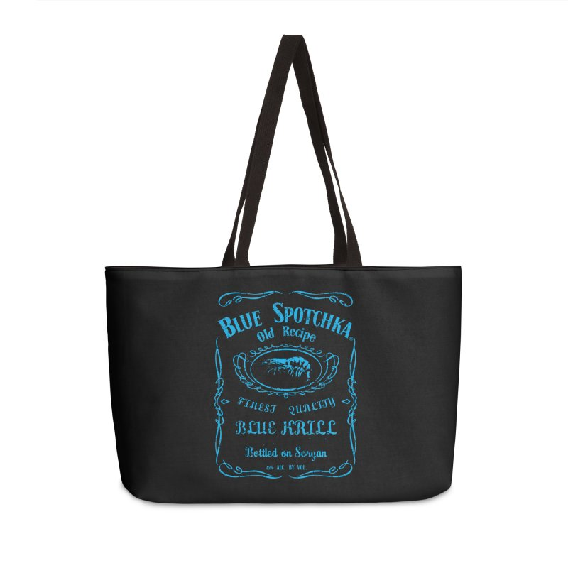 BLUE SPOTCHKA Accessories Bag by karmadesigner's Tee Shirt Shop