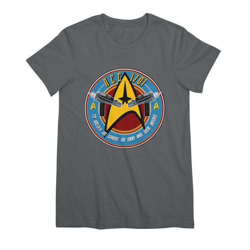 BOLDLY GO... Women's T-Shirt by karmadesigner's Tee Shirt Shop