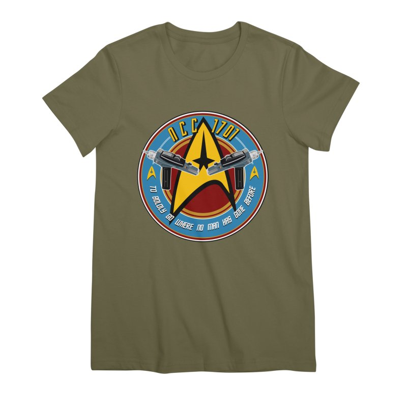 BOLDLY GO... Women's Premium T-Shirt by karmadesigner's Tee Shirt Shop
