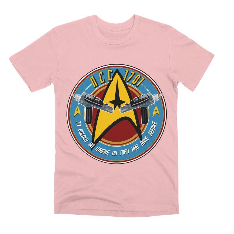 BOLDLY GO... Men's Premium T-Shirt by karmadesigner's Tee Shirt Shop