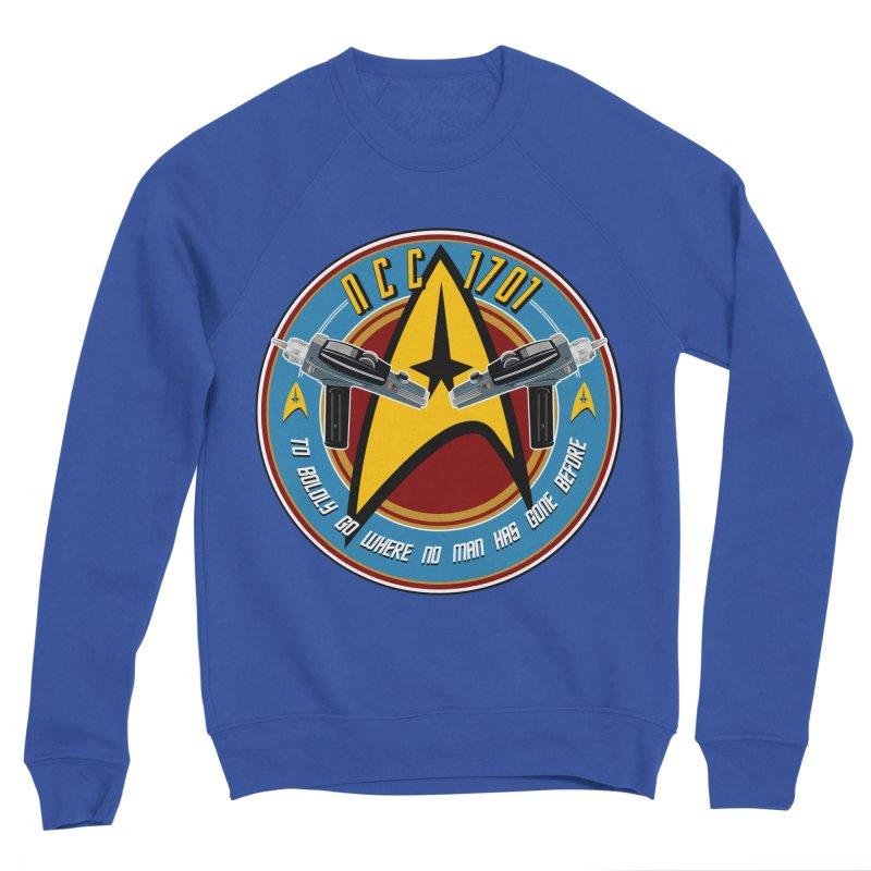 BOLDLY GO... Men's Sponge Fleece Sweatshirt by karmadesigner's Tee Shirt Shop