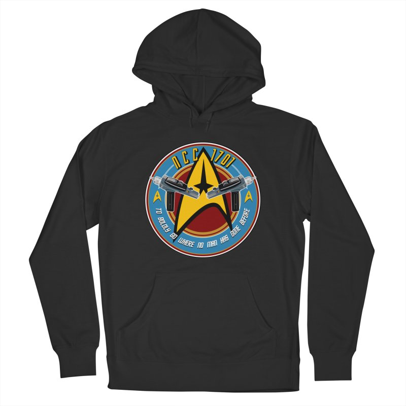 BOLDLY GO... Women's French Terry Pullover Hoody by karmadesigner's Tee Shirt Shop