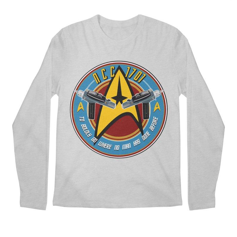 BOLDLY GO... Men's Regular Longsleeve T-Shirt by karmadesigner's Tee Shirt Shop