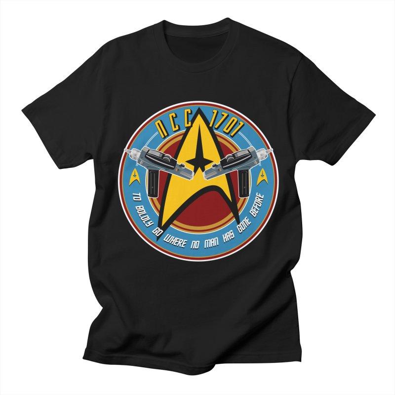 BOLDLY GO... Women's Regular Unisex T-Shirt by karmadesigner's Tee Shirt Shop