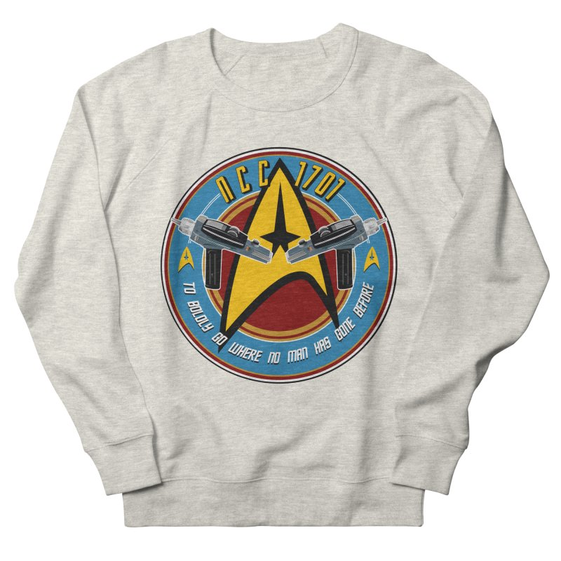 BOLDLY GO... Women's French Terry Sweatshirt by karmadesigner's Tee Shirt Shop